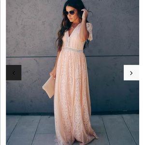 Fill your heart love maxi dress